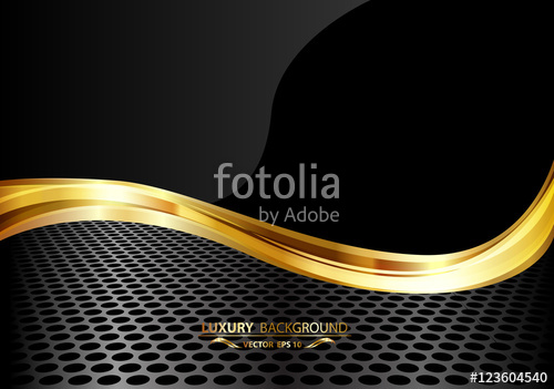 Black And Gold Vector