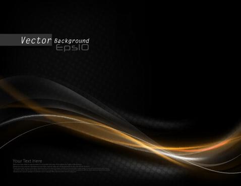 478x368 Black Gold Wave Wallpaper Free Vector Download (14,540 Free Vector