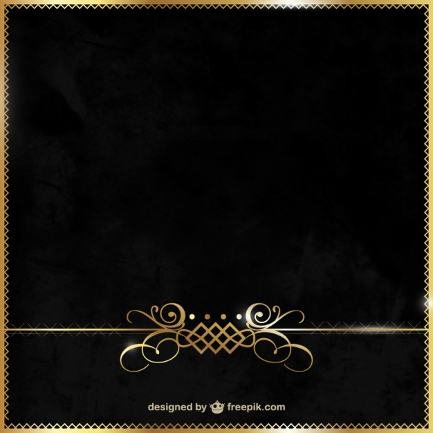 626x626 Elegant Black And Gold Background Vector Free Download