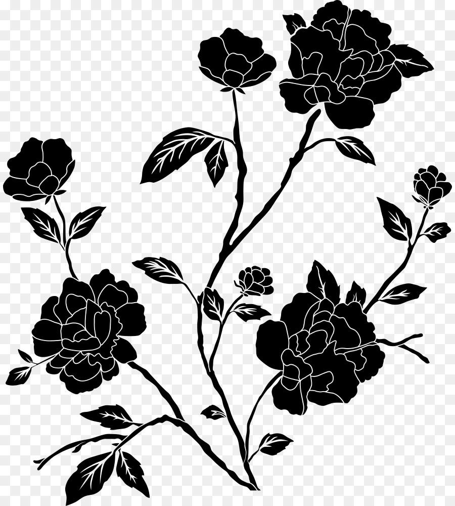 900x1000 Download Flower Black And White Desktop Wallpaper Drawing C Rose