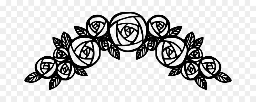 900x360 Rose Flower Clip Art