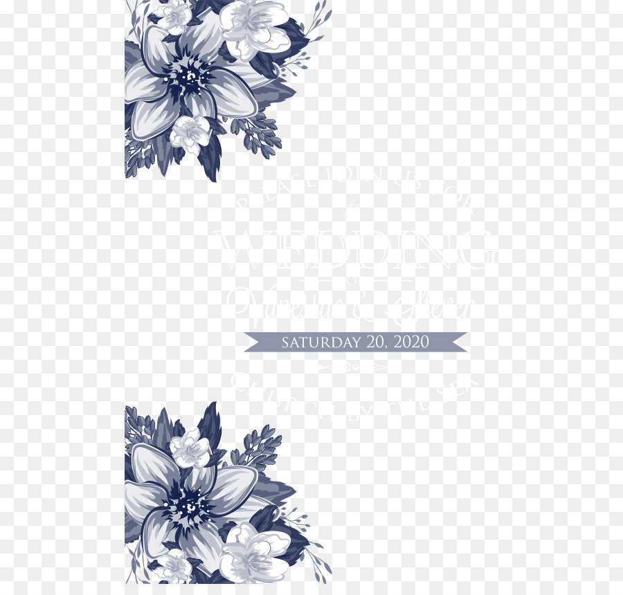 900x860 Floral Design Monochrome Black And White Pattern
