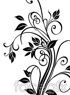 300x402 White And Black In Vector Pattern Beautiful Over Millions