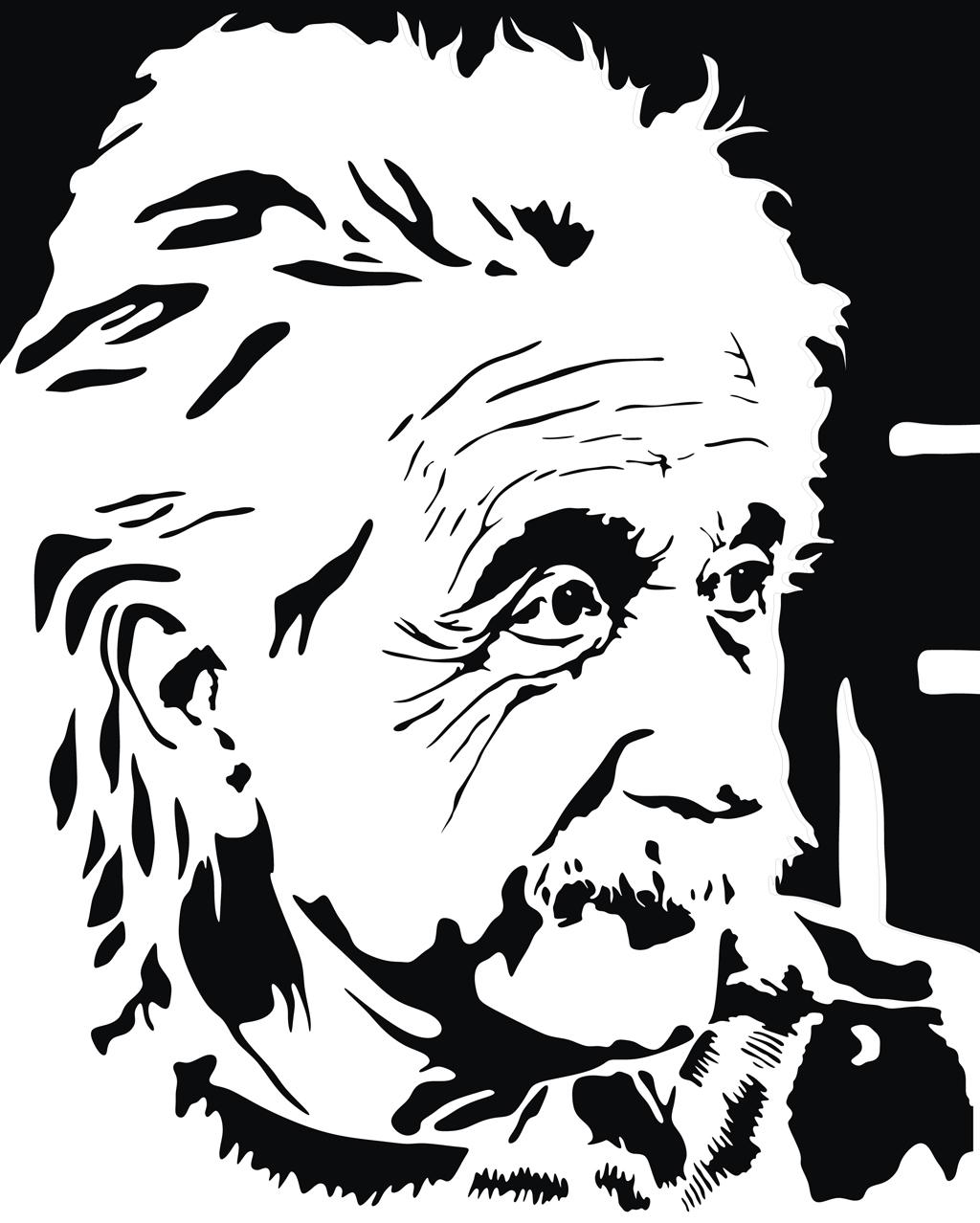 1024x1278 Albert Einstein