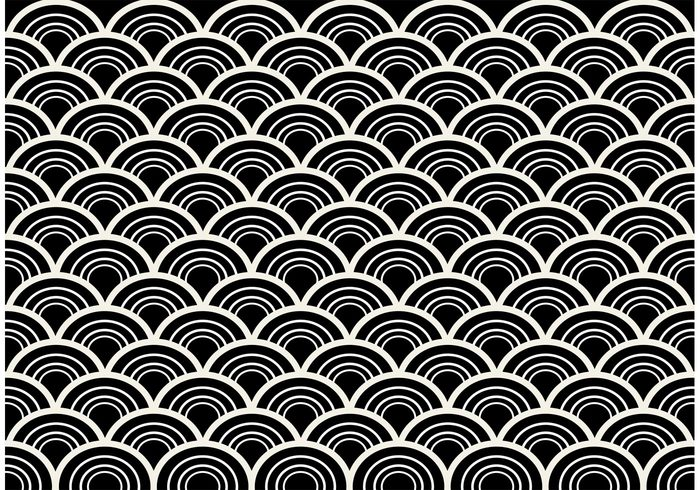 700x490 Black And White Seamless Abstract Pattern Vector 105642