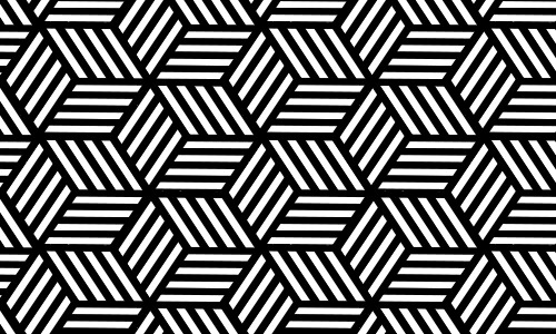 500x300 Black And White Patterns