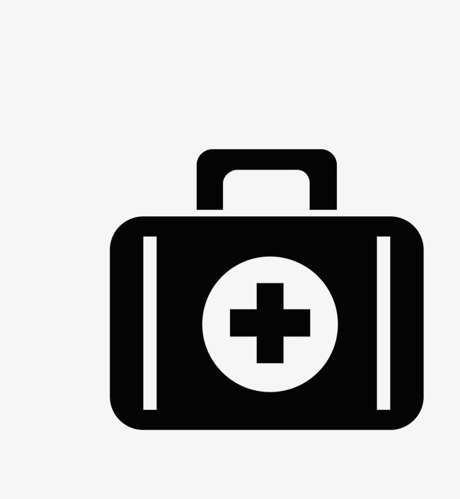 650x706 Black Medical Box Logo, Black Vector, Medical Vector, Box Vector