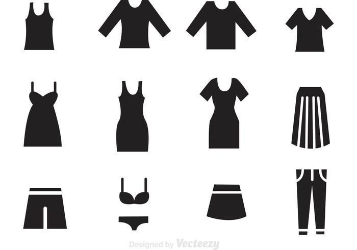 700x490 Woman Clothes Black Icons