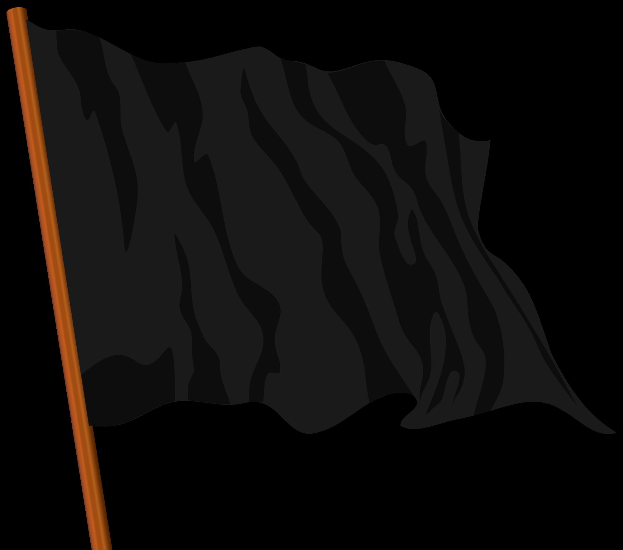 Black Flag Vector