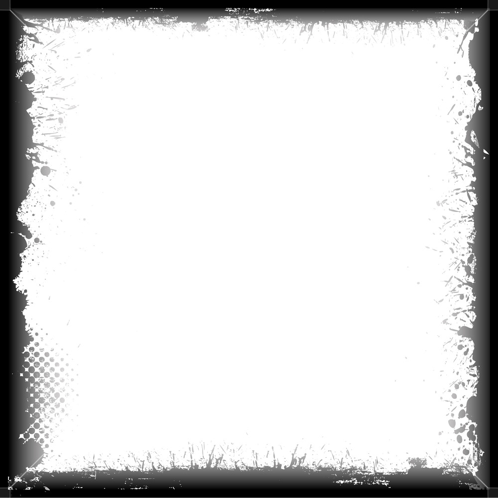 1000x1000 Grunge Frame Vector Royalty Free Stock Image