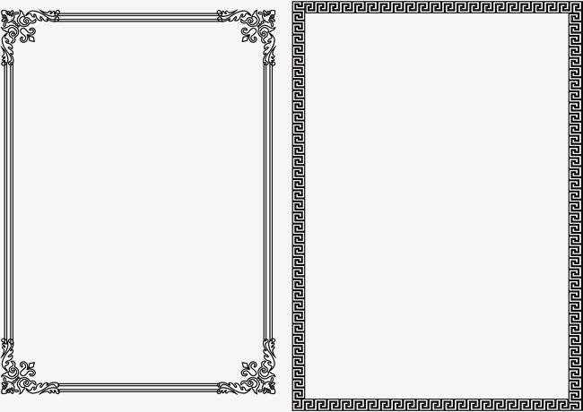 650x460 Nice Black Frame, Black Vector, Frame Vector, Snow Black Frame Png