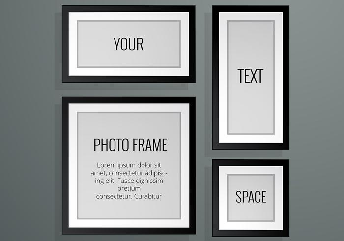 700x490 Realistic Photo Frame Vectors