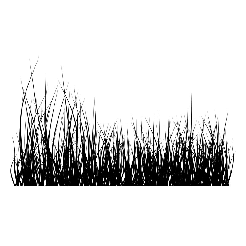Black Grass Vector