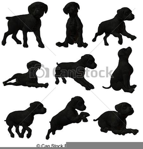 287x300 Black Lab Puppy Clipart Free Images