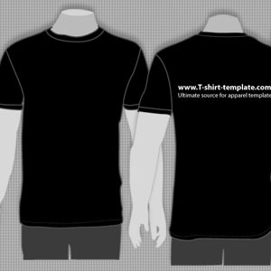 Black Shirt Vector At Getdrawings Free For Personal Use Black