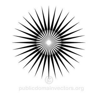 Black Star Vector