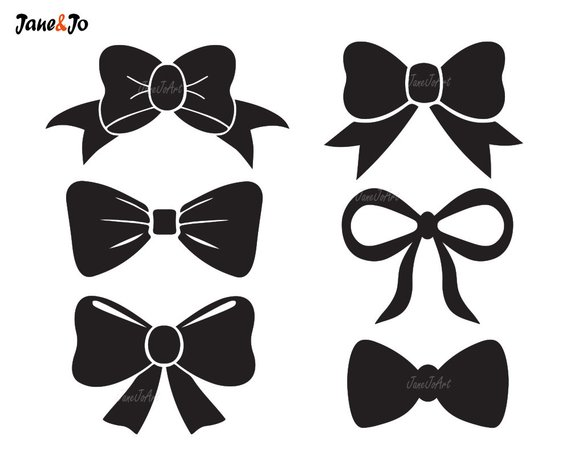 570x456 Bow Tie Svg Bow Svg File Bow Vectorbow Clipart Bow Svg Etsy