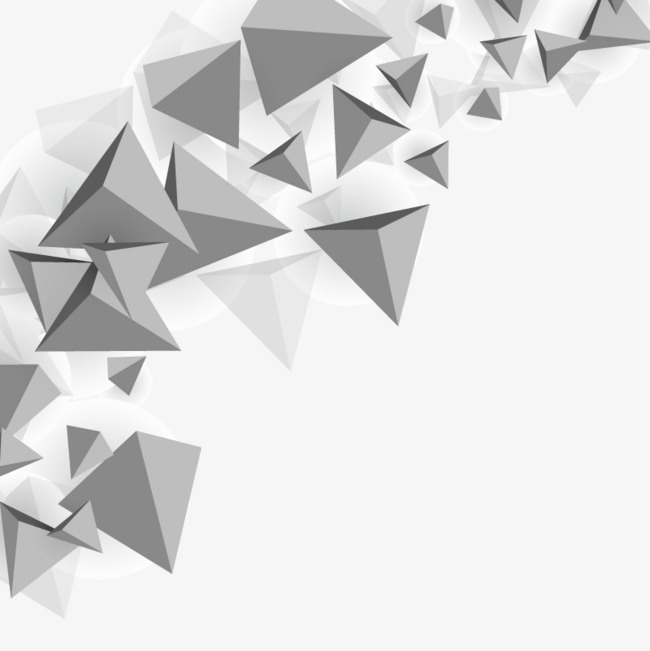 650x651 Vector Triangle Background, Hd, Vector, Gray Triangle Png And