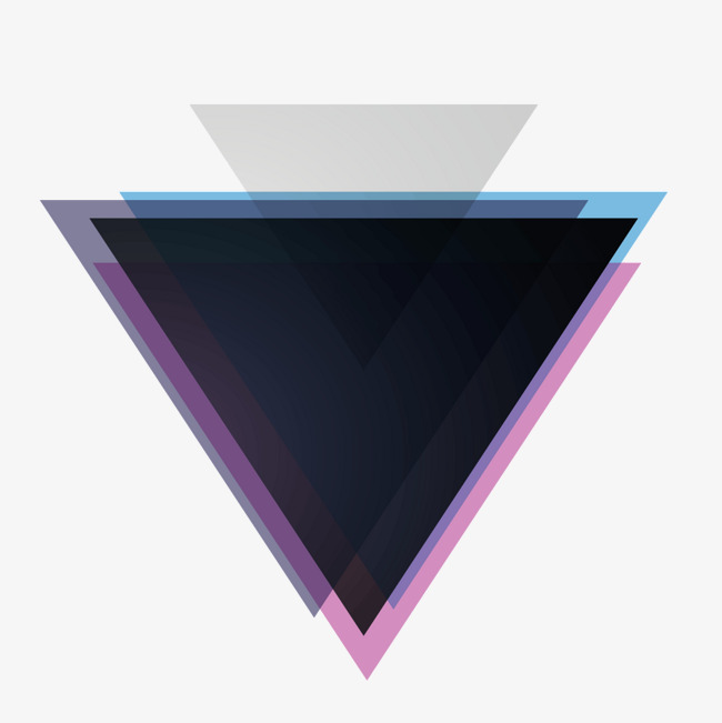 650x651 Black Triangle, Black, Triangle, Superimposed Png And Vector For