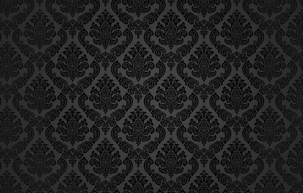 596x380 Wallpaper Style, Retro, Grey, Wallpaper, Black, Vector, Texture