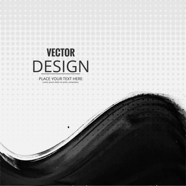 626x626 Dotted Background With A Black Wave Vector Free Download
