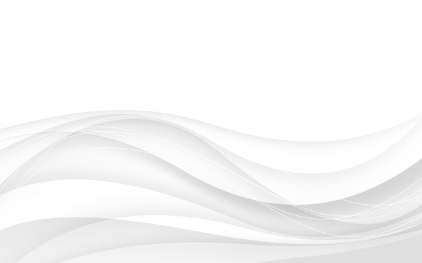 600x375 White Abstract Background With Wave Vector Illustration 01 Free