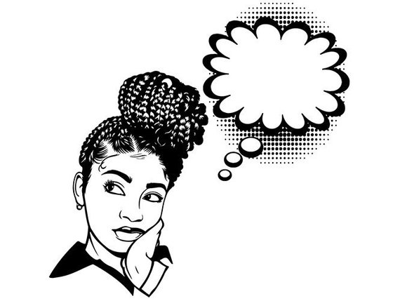 Black Woman Vector at GetDrawings.com | Free for personal ...