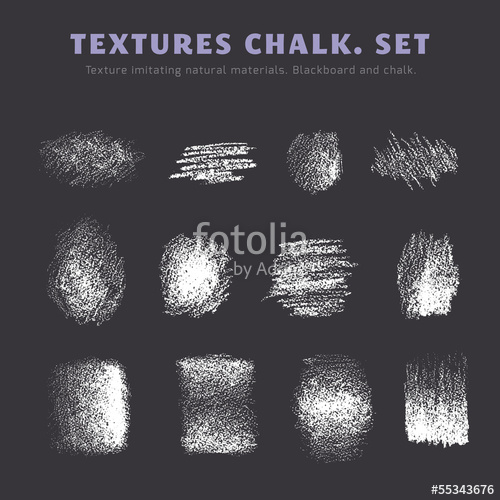 500x500 A Set Of Textures. Blackboard And Chalk Stock Image And Royalty