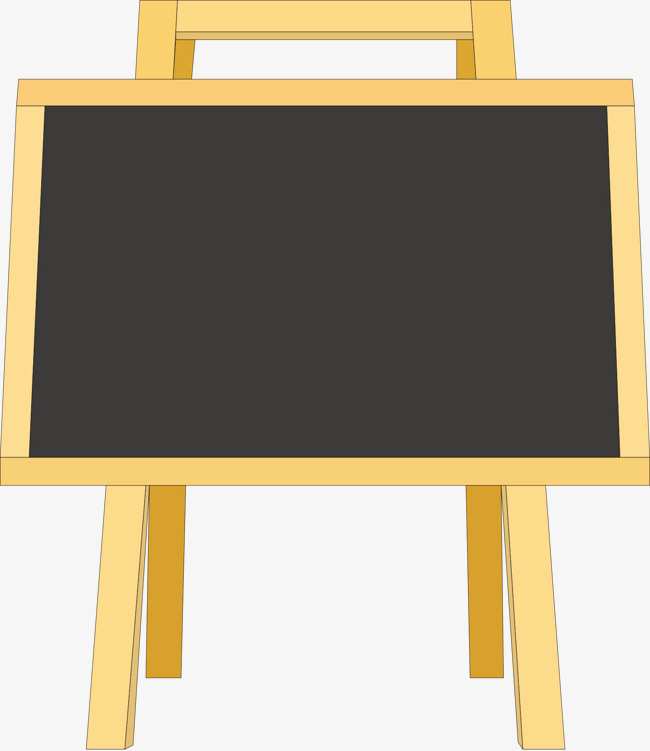 650x751 Small Wooden Blackboard Vector, Blackboard Vector, Small Wooden