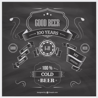 340x340 Blackboard Free Vector 123freevectors