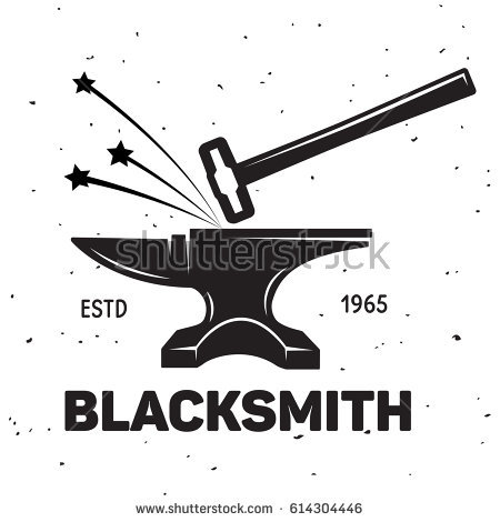 450x470 Collection Of Free Hammering Clipart Hammer Blacksmith. Download