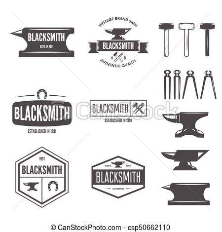 450x470 Set Of Vector Logotypes Elements, Labels, Badges And... Vector