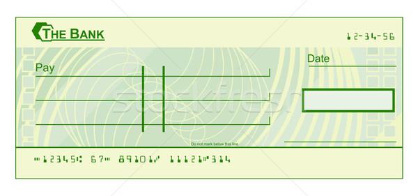 600x281 Blank Cheque Vector Illustration Christos Georghiou (Krisdog