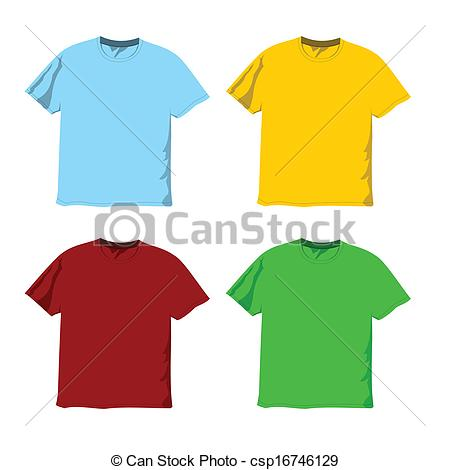 450x470 Colorful Blank Shirt Vector. Colorful Blank T Shirt Vector Ready
