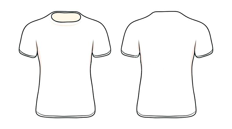 Blank Shirt Vector At Getdrawings Com Free For Personal