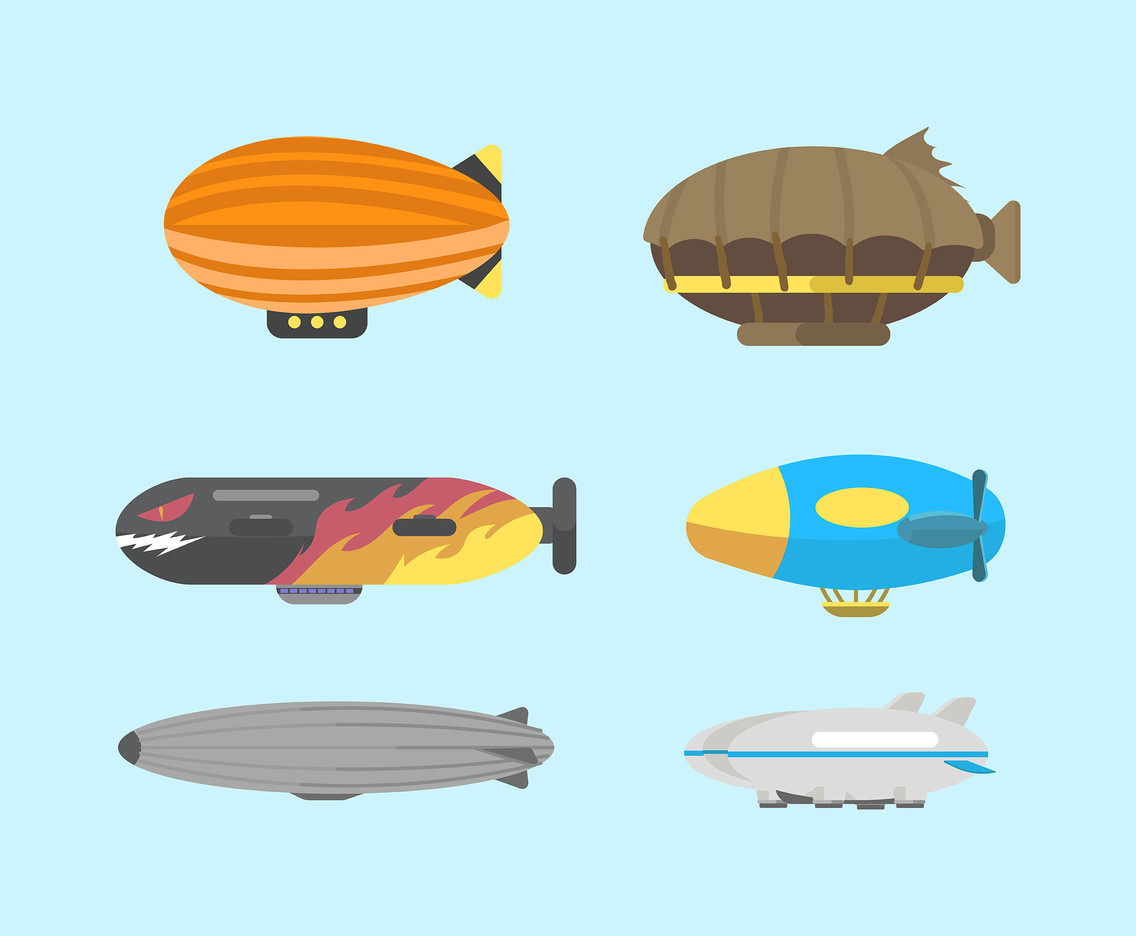 Blimp Vector