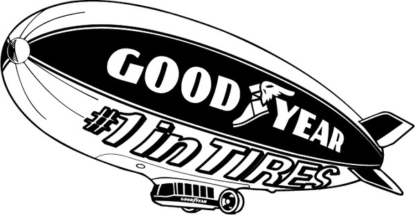 600x311 Goodyear Blimp Free Vector Download (12 Free Vector) For
