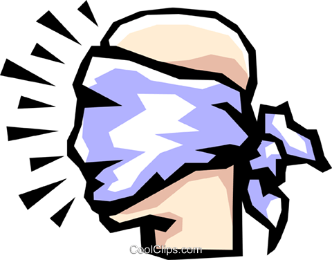 Blindfold Vector