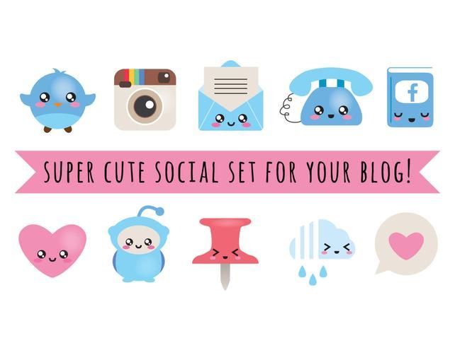 642x492 Blog Design Kit Vector Files Blog Social Kit Blog Etsy