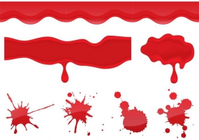 285x200 Blood Dripping Vector Free Vector Graphic Art Free Download (Found