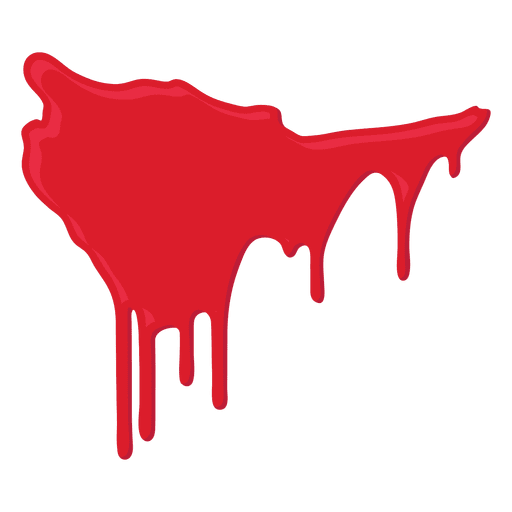 512x512 Blood Splatter Dripping