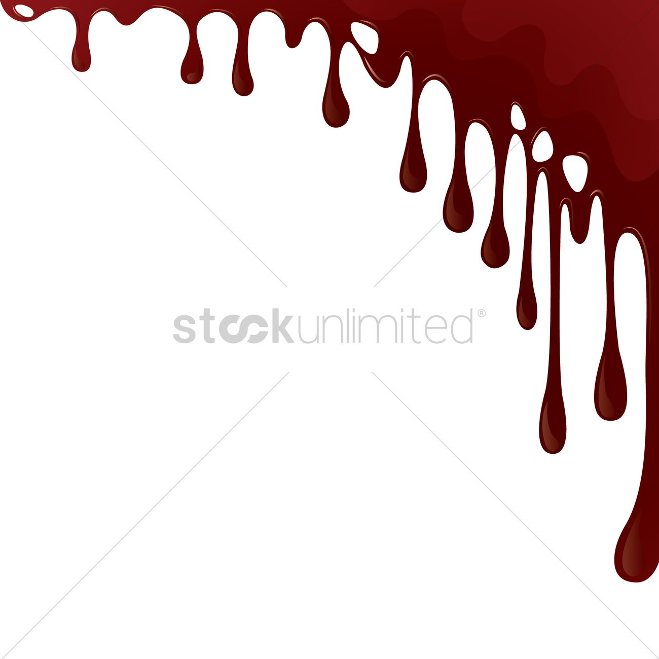 1300x1300 Dripping Blood Background Vector Image