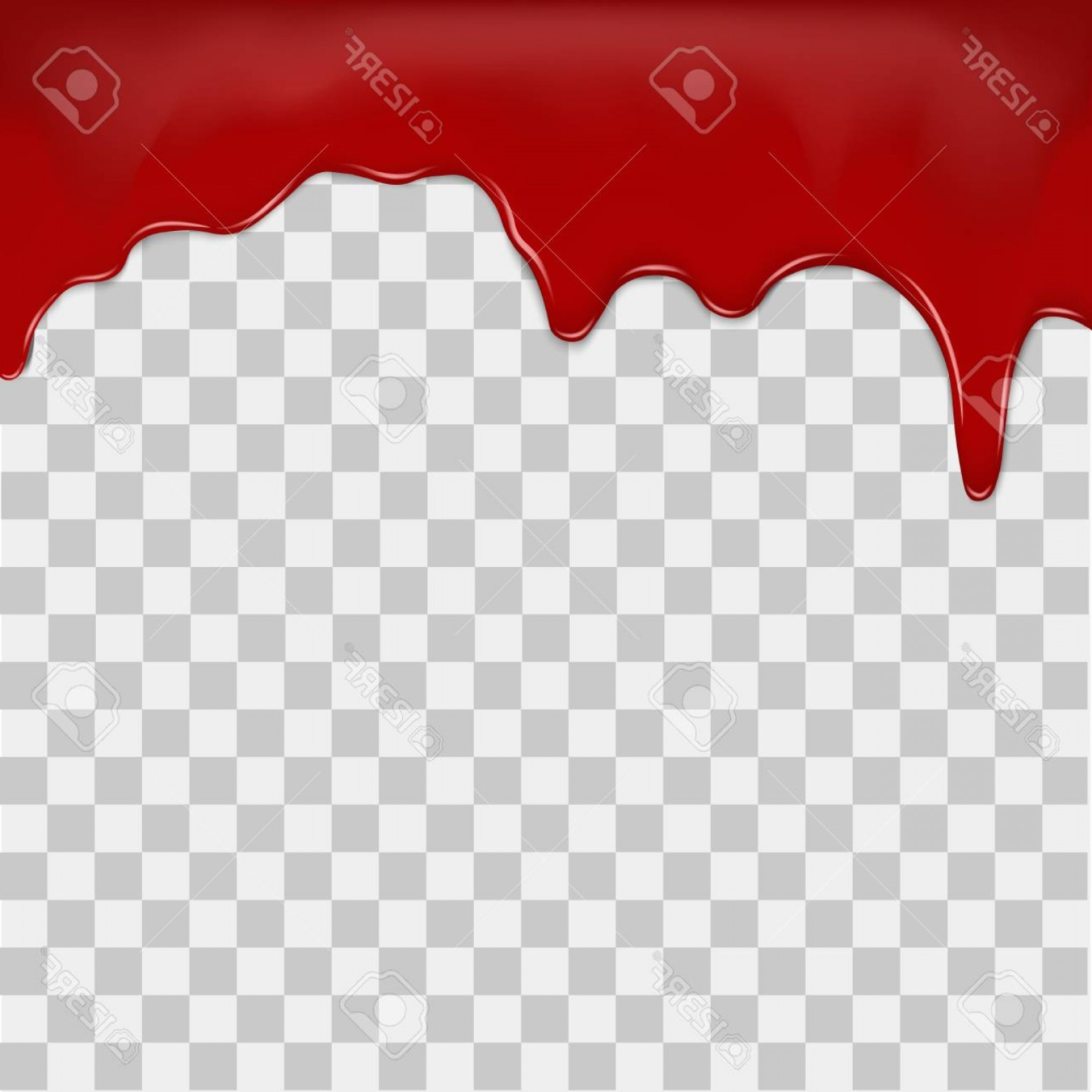 1560x1560 Photostock Vector Dripping Blood On Transparent Background Vector