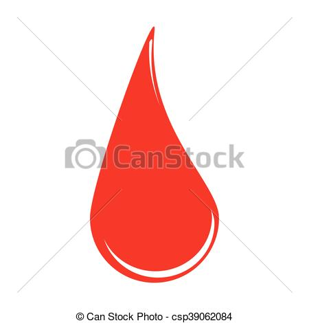 450x470 Blood Drop Vector Symbol Icon Design. Illustration Isolated On