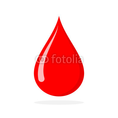 400x400 Red Blood Drop. Vector Illustration. Buy Photos Ap Images