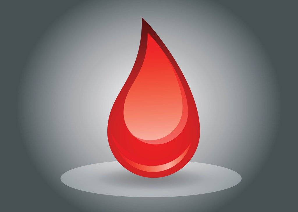 1024x729 Blood Drop Vector Art Amp Graphics