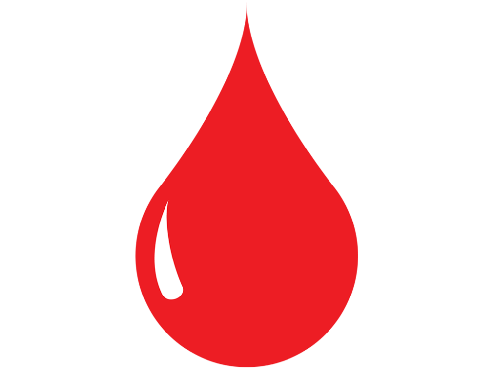 1000x750 Blood Drop Vector Icon Free Vector Icons Icons