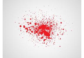 286x200 Blood Stain Free Vector Art
