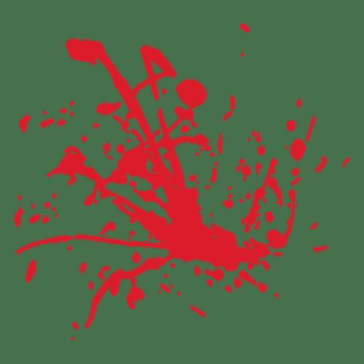 512x512 Blood Splatter