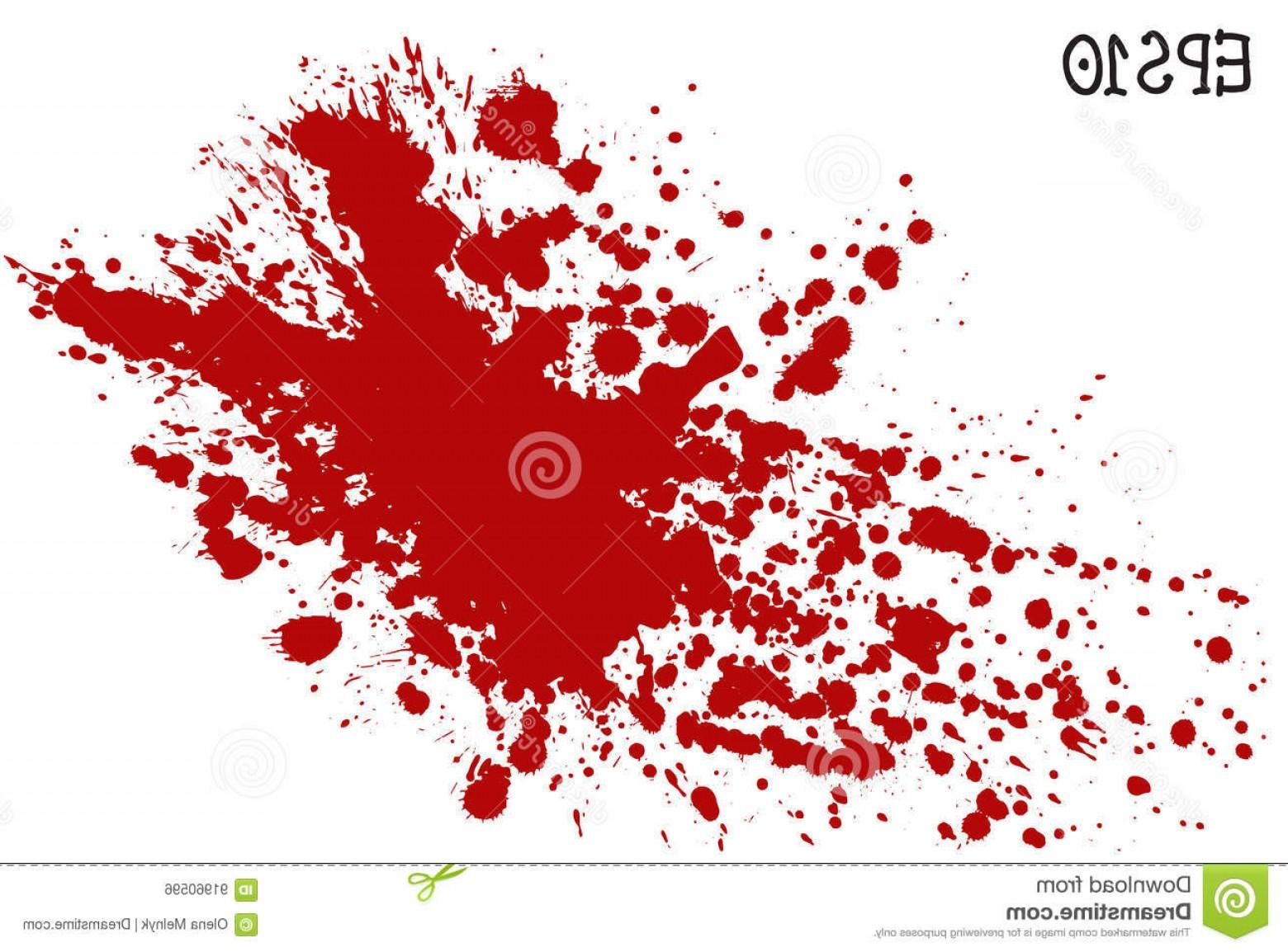 1560x1154 Stock Illustration Blood Splatter Vector Illustration Red Splash
